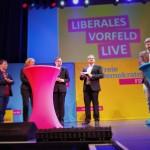 Wir sind liberales Vorfeld. Simon Kell stellt den Verband auf der Neumitgliederkongress der FDP NRW vor.